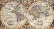 Плакаты Карты Мира