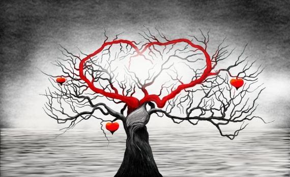Постер (плакат) Сердце