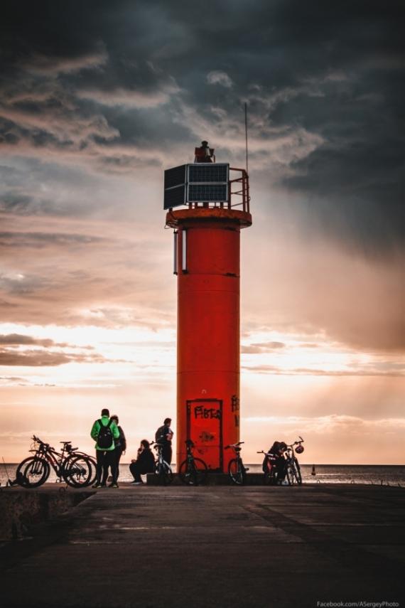 Постер (плакат) Рижский маяк