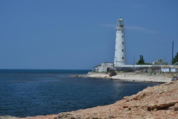 Постер (плакат) Тарханкутский маяк в Крыму