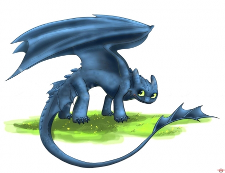 Постер (плакат) Беззубик (Приручить дракона)