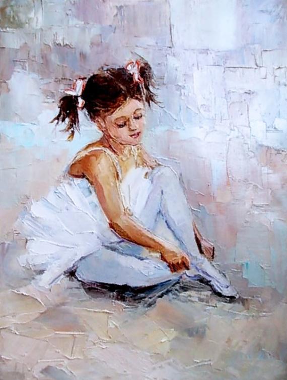 Постер (плакат) Юная балерина