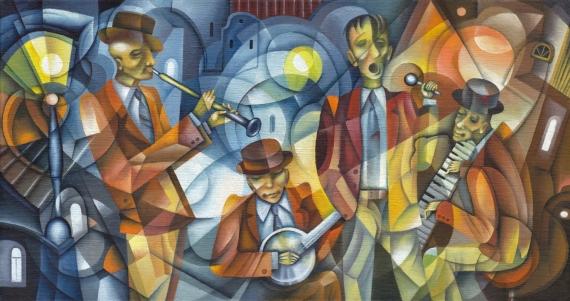 Постер (плакат) Музыканты