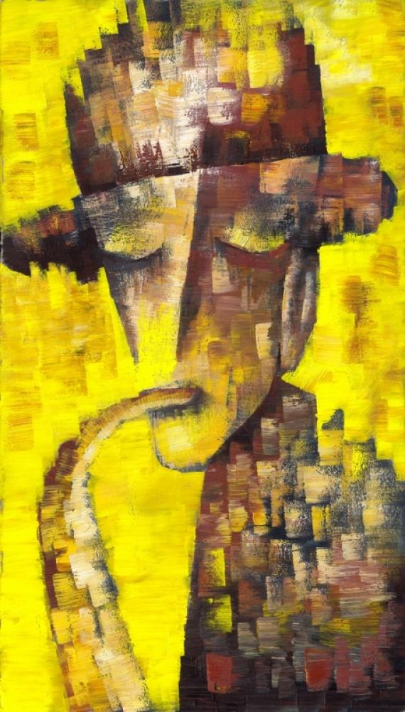 Постер (плакат) Саксофонист