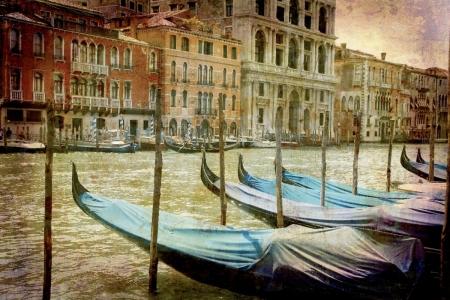 Постер (плакат) Транспорт Венеции
