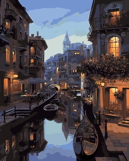Постер (плакат) Тихий вечер в Венеции