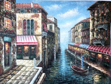 Постер (плакат) Цветы Венеции