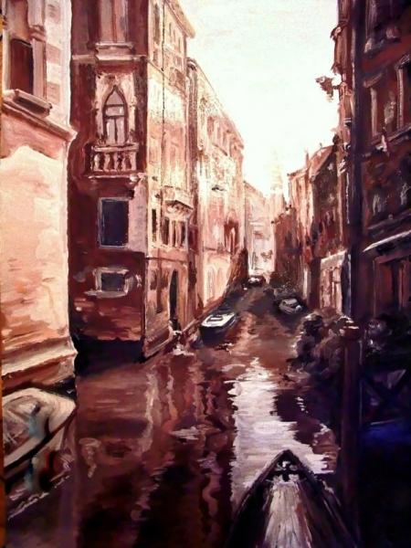 Постер на подрамнике Арт Венеция