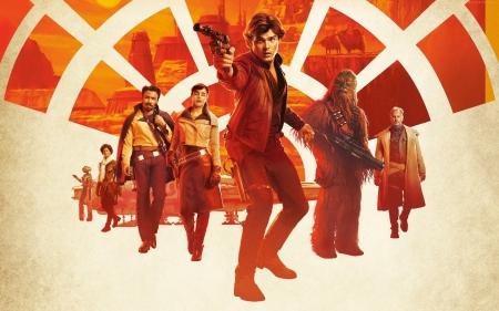 Плакат Хан Соло. Звёздные войны Истории