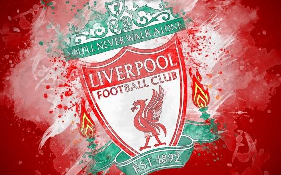 Плакат FC Liverpool