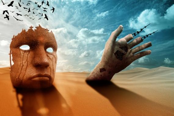Постер на подрамнике Пески времени