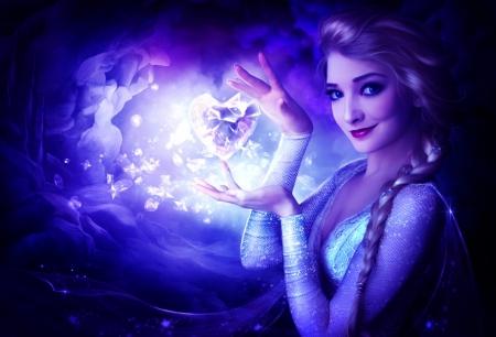 Плакат Эльза Ледяное сердце