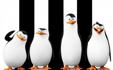Плакат Пингвины из Мадагаскара