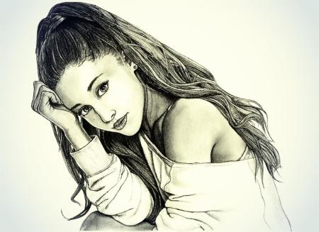 Постер на подрамнике Ariana Grande