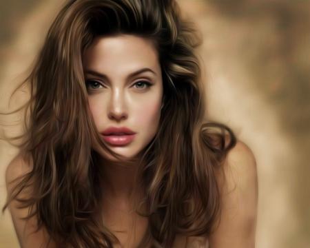 Постер (плакат) Анжелина Джоли