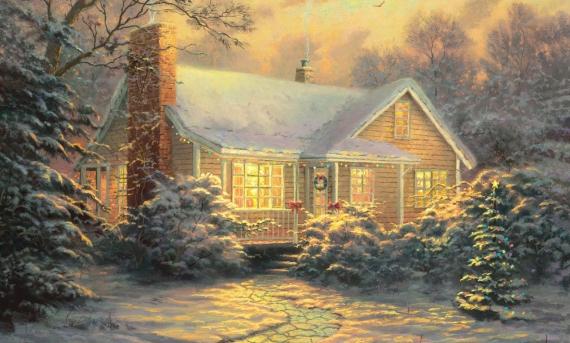 Плакат Перед Рождеством