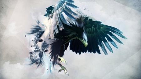 Постер на подрамнике Орел