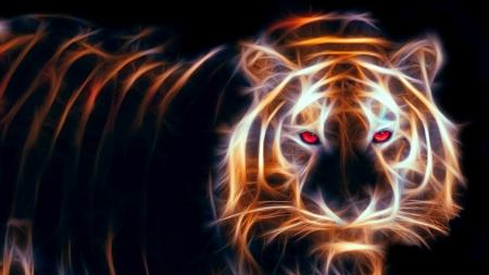 Постер на подрамнике Тигриный взгляд