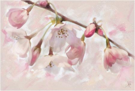 Постер на подрамнике Весенний цвет