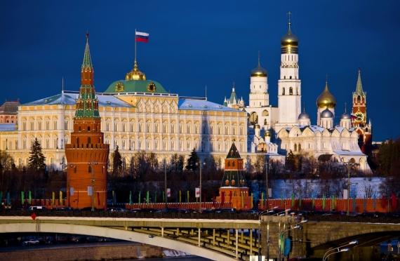 Постер на подрамнике Московский Кремль