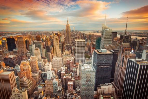 Постер (плакат) Доброе утро Нью-Йорк