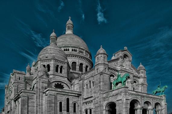 Плакат Собор в Париже