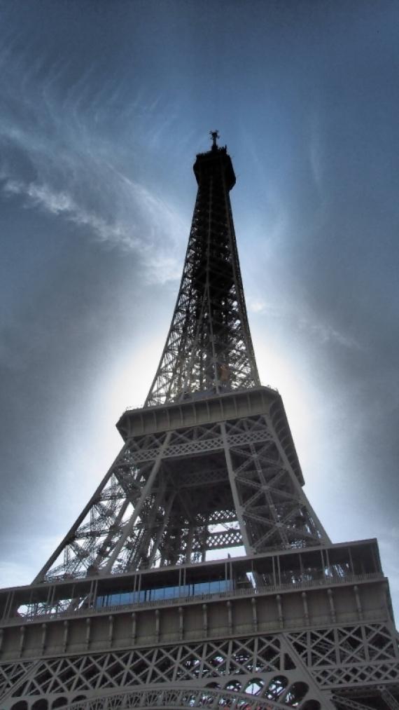 Постер (плакат) Эйфелева башня