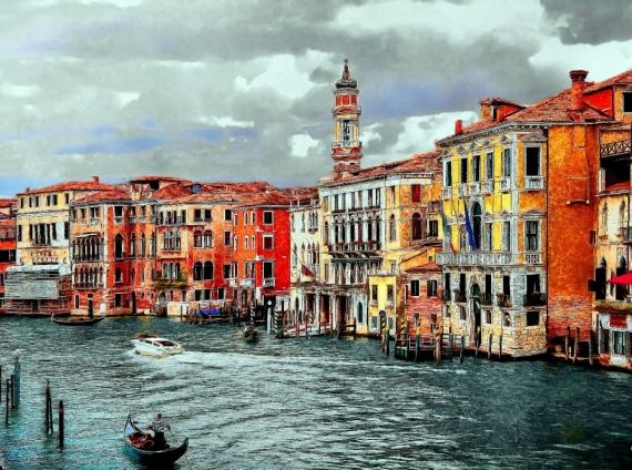 Постер (плакат) Палацио Венеции