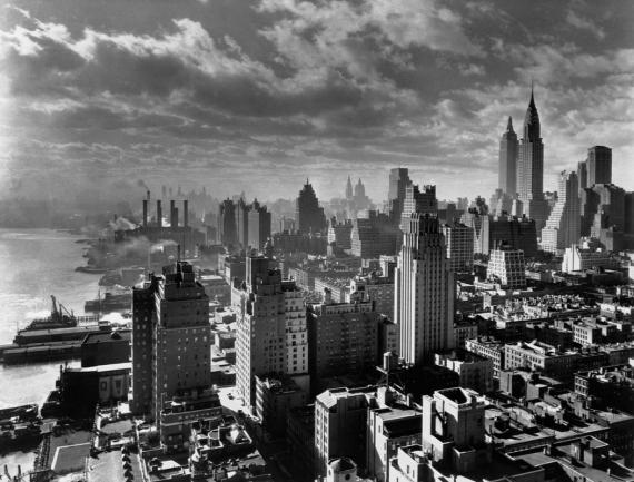 Постер на подрамнике Старый Нью-Йорк