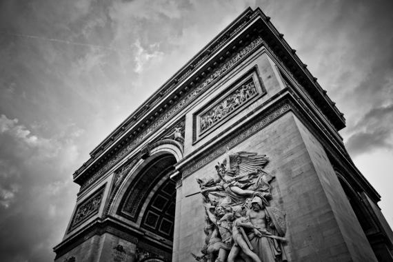 Постер (плакат) Триумфальная арка в Париже