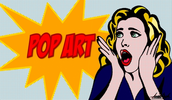 Постер (плакат) Поп-арт