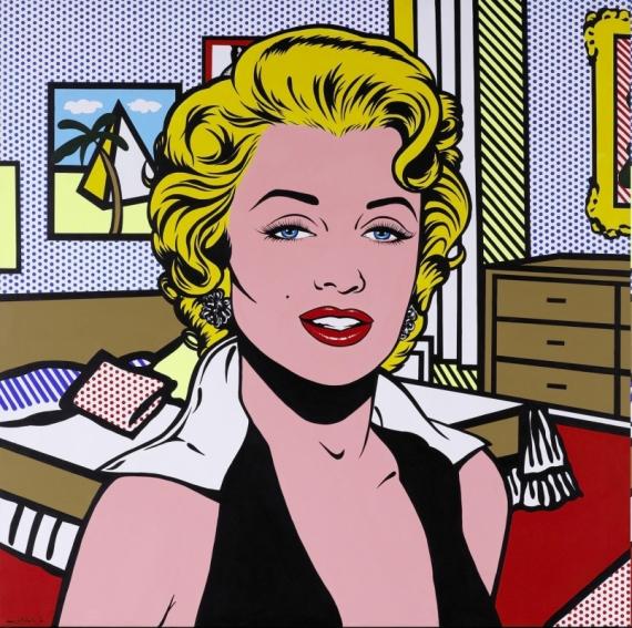 Постер на подрамнике Мерлин Монро