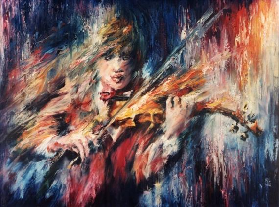 Постер (плакат) Скрипка