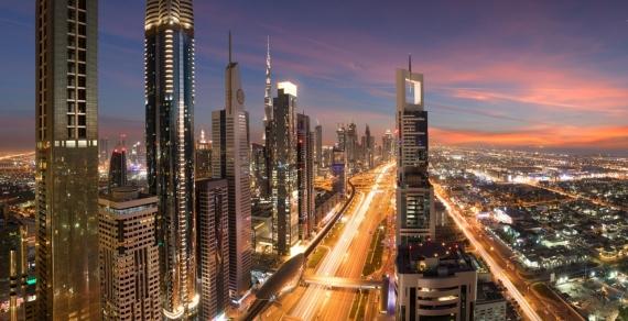 Постер на подрамнике Дубай