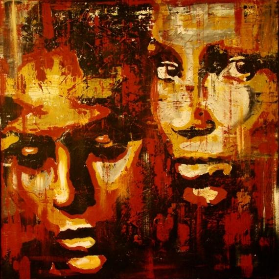 Постер (плакат) Два силуэта