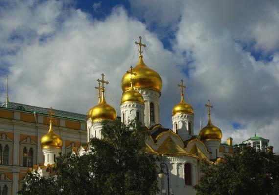 Постер (плакат) Храм Москва