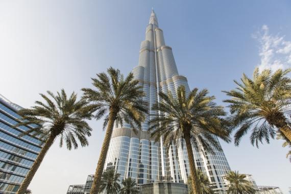 Постер на подрамнике Дубай Бурдж-Халифа