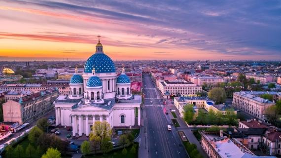 Плакат Санкт-Петербург Храм
