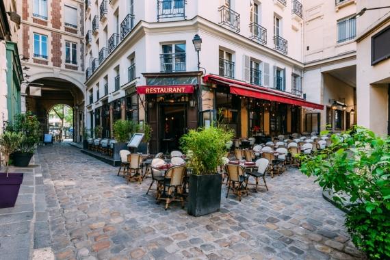 Постер (плакат) Парижское кафе