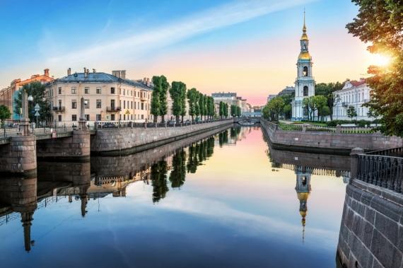 Постер (плакат) Пикалов мост Санкт-Петербург