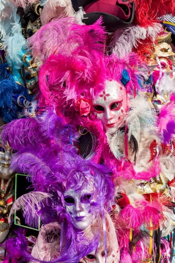 Постер на подрамнике Карнавал Венеция