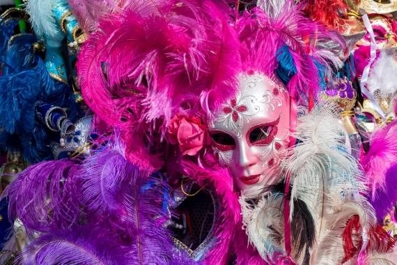 Постер (плакат) Венецианский карнавал Италия