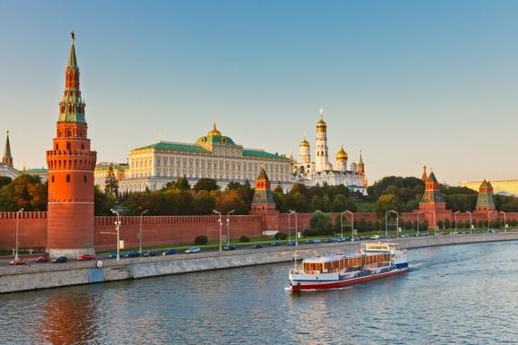 Постер (плакат) Москва река