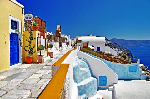 Постер (плакат) Город Греции