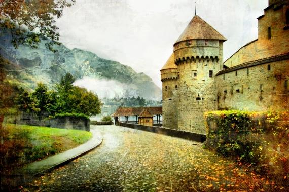 Постер (плакат) Замок