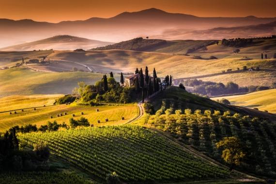 Постер (плакат) Тоскана Италия