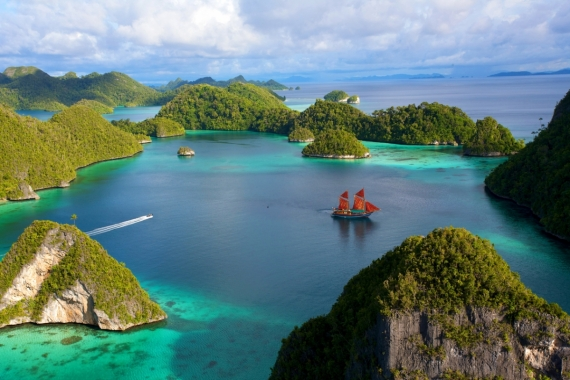 Постер на подрамнике Острова Индонезии
