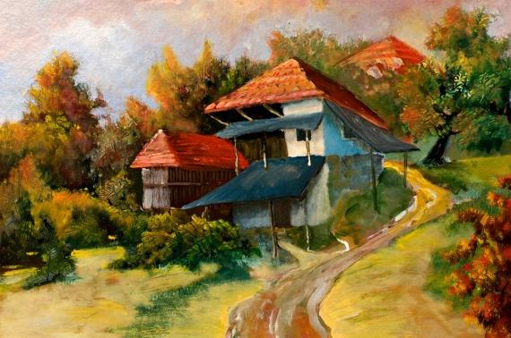 Постер (плакат) Дом