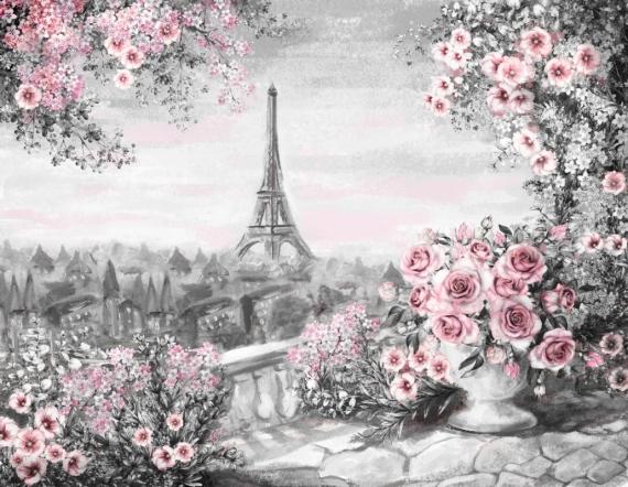 Постер (плакат) Ваза с цветами