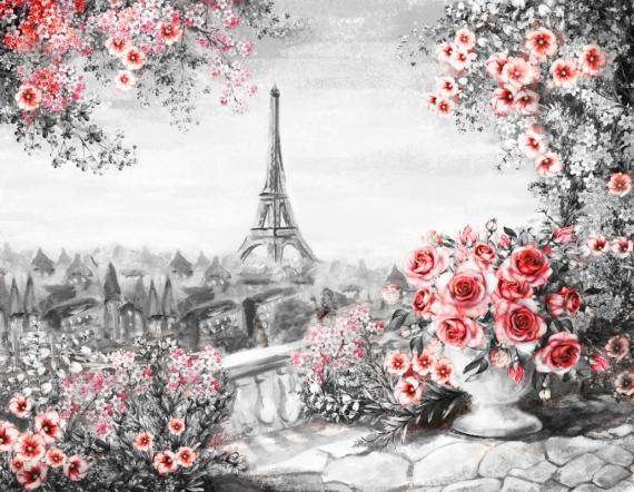 Постер на подрамнике Ваза с цветами